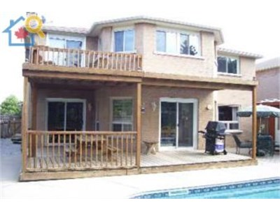 House is located in Oakville, Ontario in a beautiful residential area